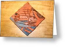 Mpeeka - Tile Greeting Card