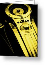 Mph Yellow 5485 G_3 Greeting Card