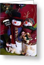 Mr. And  Mrs. Claus Greeting Card