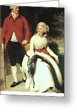 Mr And Mrs John Julius Angerstein  Greeting Card