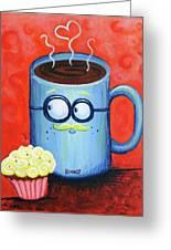 Mr. Coffee Greeting Card