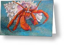 Mr. Crab Greeting Card