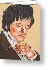 Mr. Darcy Greeting Card