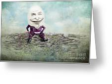 Mr. Egg Head Greeting Card
