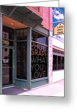 Mr. Photographer Photograph What You Love  Greeting Card
