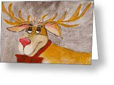 Mr Reindeer Greeting Card