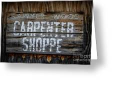 Mr. Sawyer Wood Greeting Card