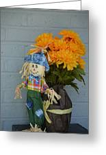 Mr Scarecrow Greeting Card