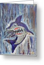 Mr. Shark Greeting Card