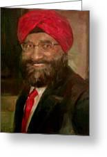 Mr. Singh Greeting Card