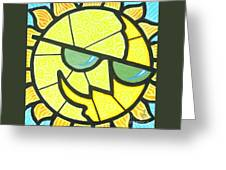 Mr Sunny Day Greeting Card