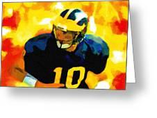 Mr. Tom Brady Greeting Card
