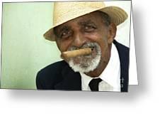 Mr Trinidad  Greeting Card