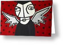 Mr.creepy Greeting Card by Thomas Valentine
