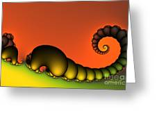 Mrs. And Mr. Centipede Greeting Card