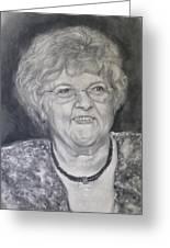 Mrs. Carol Paul Greeting Card