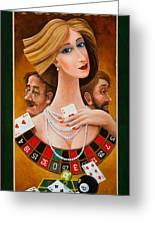 Mrs Fortune Greeting Card by Igor Postash