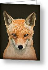 Mrs. Foxy Greeting Card