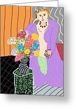 Mrs. Matisse Greeting Card