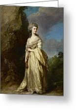 Mrs Peter William Baker Greeting Card