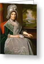 Mrs Richard Alsop 1792 Greeting Card