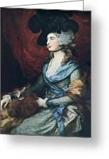 Mrs Siddons. British Actress Sarah Greeting Card