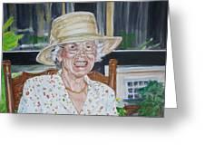 Mrs Spencer Greeting Card