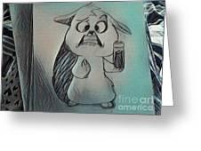 Mrs Greeting Card