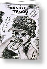 Ms Trudy Of South Carolina Greeting Card