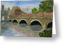 Ms23 French Stone Bridge  Greeting Card