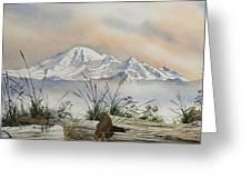 Mt. Baker Cascade Coast Greeting Card