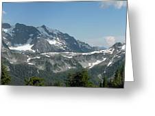 Mt Baker Greeting Card
