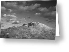 Mt. Chilly Greeting Card