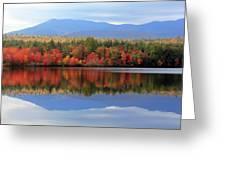 Mt. Chocorua Reflections I Greeting Card