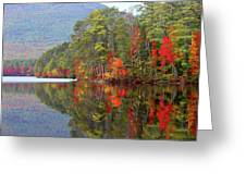 Mt. Chocorua Reflections II Greeting Card