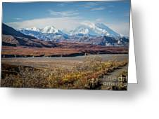Mt Denali View From Eielson Visitor Center Greeting Card