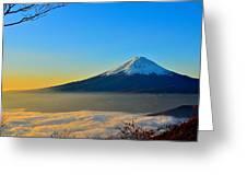 Mt. Fugi Greeting Card