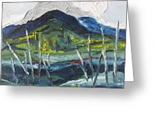 Mt Gosford Greeting Card