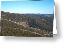 Mt Hotham In Early April Greeting Card