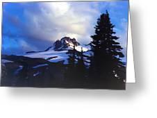 Mt. Jefferson Photograph Greeting Card