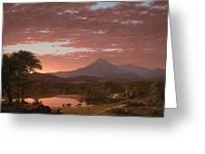 Mt Katahdin Greeting Card