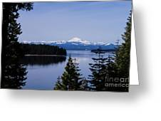 Mt Lassen Greeting Card