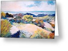 Mt Lemmon View Greeting Card