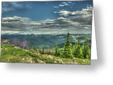 Mt. Marston Scenic View Greeting Card