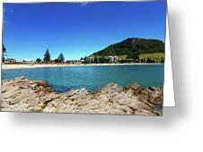 Mt Maunganui Beach 9 - Tauranga New Zealand Greeting Card