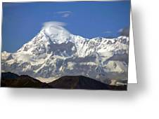 Mt. Mckinley Circling Wind Greeting Card
