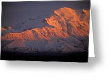 Mt. Mckinley Sunset Greeting Card