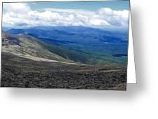 Mt Monroe Panorama Greeting Card