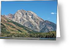 Mt Moran At The Grand Tetons Greeting Card