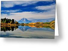 Mt. Moran Greeting Card